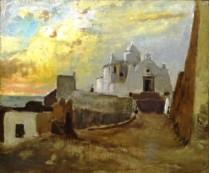 La chiesa del Soccorso di Forio in stile macchiaiolo. Vincenzo Cabianca ad Ischia