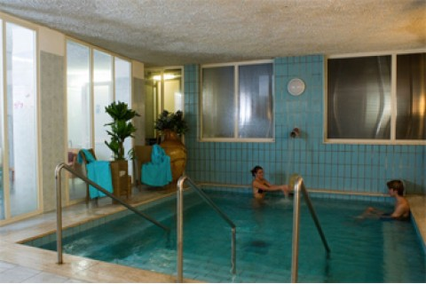 Family Hotel Le Canne & Beauty: Piscina interna