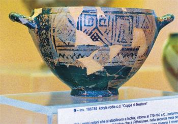 I reperti archeologici in due musei di Lacco Ameno