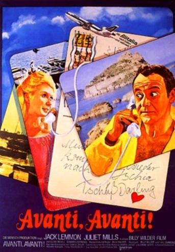"""Billy Wilder sceglie Ischia per """" Cosa è successo tra mia madre e tuo padre?"""""""
