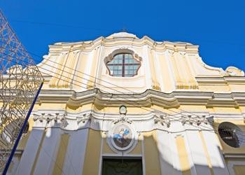 La cattedrale dell'Assunta di Ischia ponte