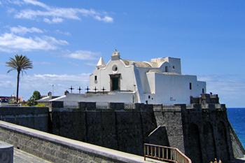 La chiesa del Soccorso a Forio
