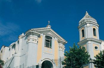 La chiesa di Sant'Antonio alla Mandra