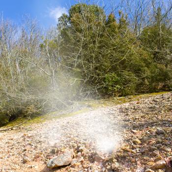 Le bocche calde della terra ischitana: le fumarole