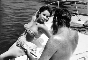 Passione sul set: Liz Taylor e Richard Burton ad Ischia