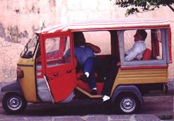 """Bus, taxi e """"carrozzelle"""" in giro per l'isola"""