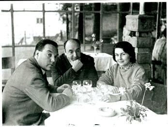 Il poeta Neruda a Sant'Angelo