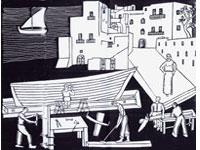 Aniellantonio Mascolo: ieratismo arcaico nella storia delle gente di Ischia
