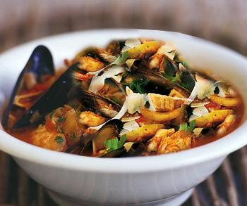 Tutto il mare dentro: la zuppa di pesce all'ischitana