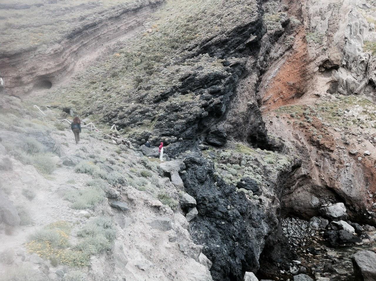 Effetti speciali della natura: Baia della Pelara a Panza